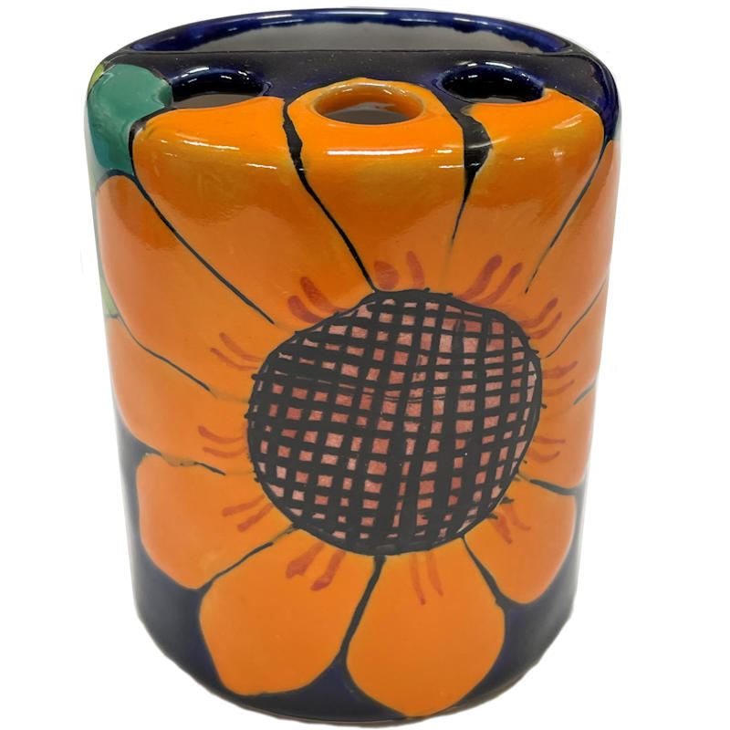 Sunflower Toothbrush Holder