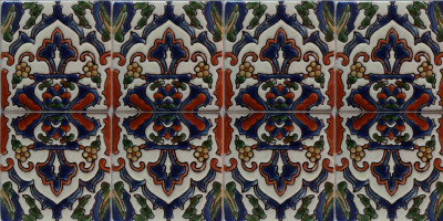 Alhambra Kashana #8 Mexican Tile Close-Up