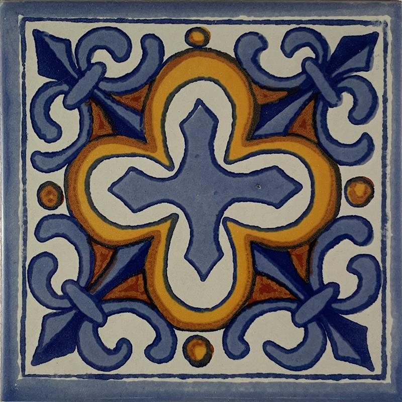 Escudo talavera mexican tile Cheap mexican tile