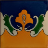 Yellow Bat Talavera Mexican Tile