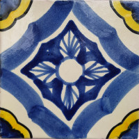 Cornflower Talavera Mexican Tile