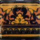 Black Mayan Talavera Mexican Tile