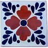 Brown Tlaquepaque Talavera Mexican Tile