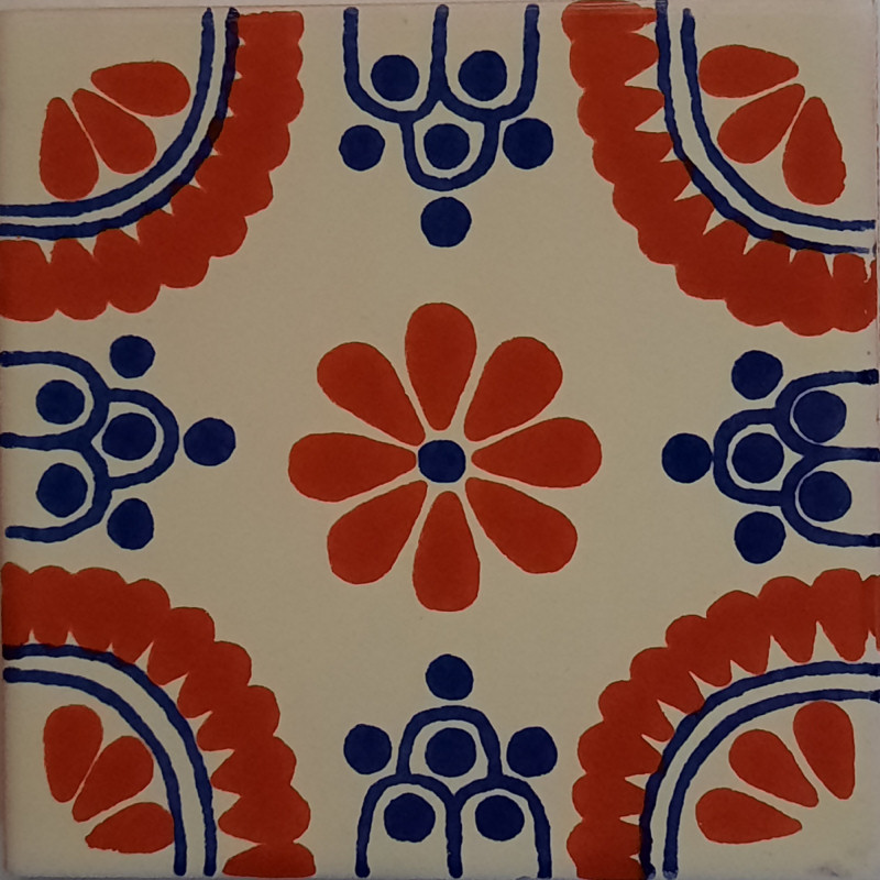 Terra Madrid Talavera Mexican Tile