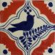 Colonial Bird Talavera Mexican Tile