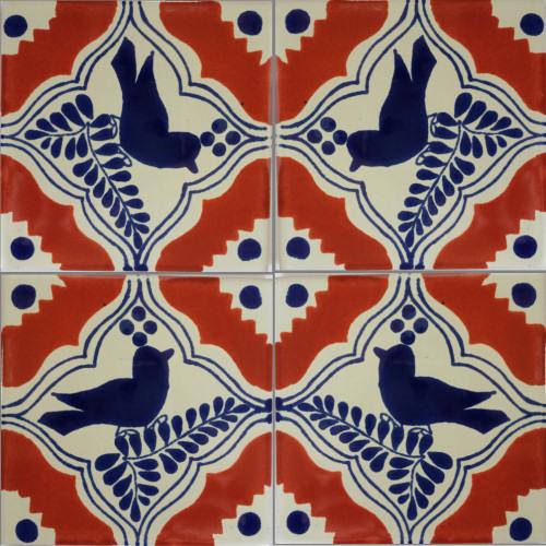 Colonial Bird Talavera Mexican Tile