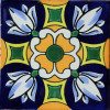 Cotton Santa Barbara Mexican Tile
