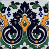 Carnation Santa Barbara Mexican Tile