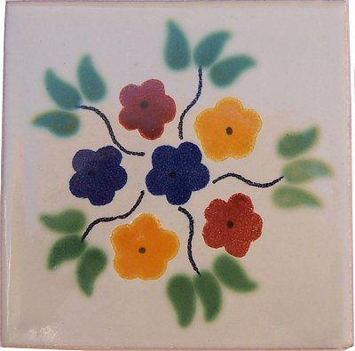 Bouquet Talavera Mexican Tile