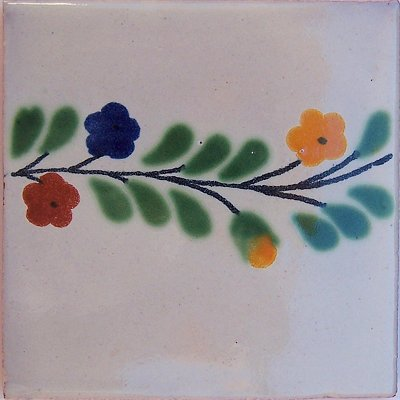 Bouquet Bower Talavera Mexican Tile