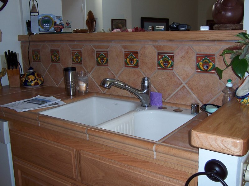 Accents In The Backsplash Mexican Home Decor Gallery Mission Accesories Copper Sinks Mirrors Tables And More
