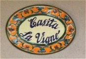 Welcome Ceramic House Plaques