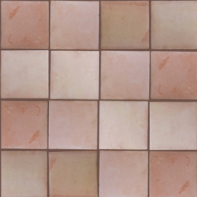 Square 10 Clay Saltillo Tile