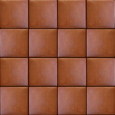 Square 12 Clay Lincoln Floor Tile