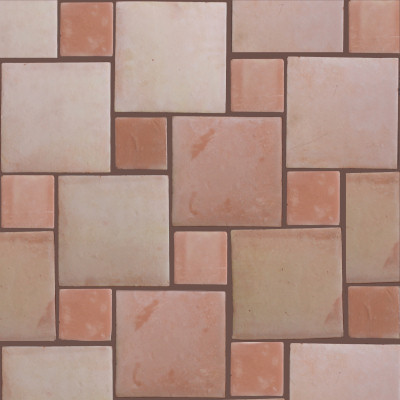 Square 10 Clay Saltillo Tile Details