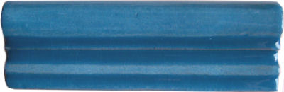 Aqua Blue Chair Rail Molding 6
