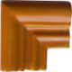 Yellow Chair Rail Corner Molding
