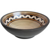 Espigas Fango Brown Ceramic Vessel Sink