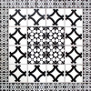 Corella Mexican Tile Set Backsplash Mural