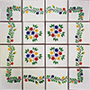 Linares Mexican Tile Set Backsplash Mural
