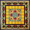 Mirabel Mexican Tile Set Backsplash Mural