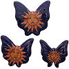 Sun Talavera Ceramic Butterfly Set (3)