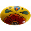 Oval Canary Talavera Ceramic Drawer Knob