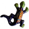 Tiny Eclipse Garden Ceramic Lizard