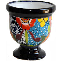 Abasolo Talavera Mexican Ceramic Pot