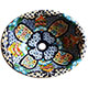 Blue Clover Ceramic Talavera Sink