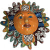 Multicolor Talavera Ceramic Sun Face
