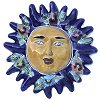 Flowers Talavera Ceramic Sun Face