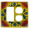 Canary Talavera Decora-Outlet Switch Plate