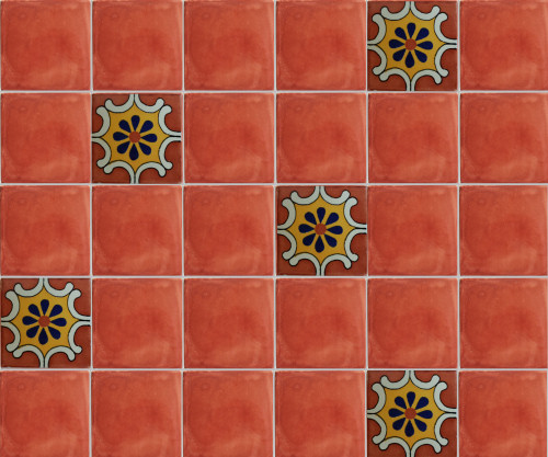 Arab Terra Talavera Clay Tile