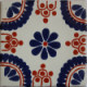 Blue Madrid Talavera Mexican Tile