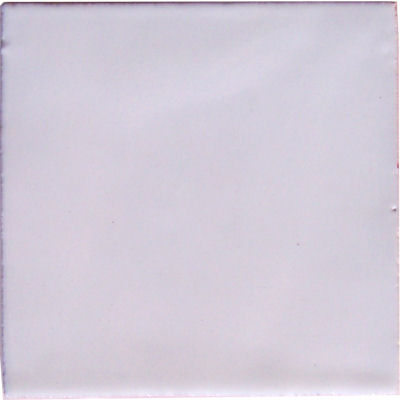 Pure White Talavera Mexican Tile