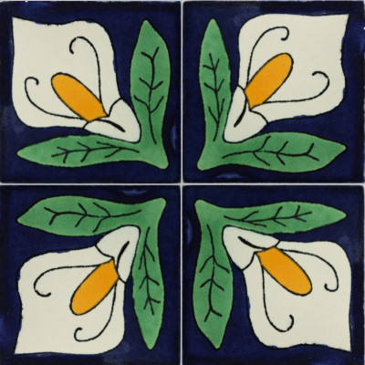 Lily Talavera Mexican Tile Close-Up