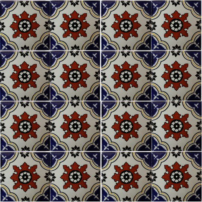 Calabria Mexican Tile Details