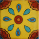 Canary Talavera Mexican Tile