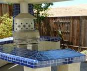 Talavera Mexican Tile Outdoors