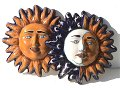 Talavera decorative sunface