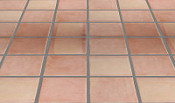 Mexican Floor Tile Squared Pattern